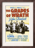 The Grapes of Wrath, John Carradine, Dorris Bowdon, Henry Fonda, 1940 Posters