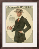 Kuppenheimer, Magazine Advertisement, USA, 1910 Art