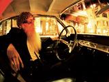 Billy F. Gibbons Custom Guitar Fotografisk tryk af David Perry