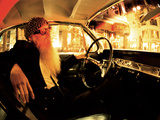 Billy F. Gibbons Custom Guitar Photographic Print by David Perry