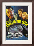 Charlie Chan at Monte Carlo, Warner Oland, Sidney Blackmer, Robert Kent, Kay Linaker, 1937 Prints