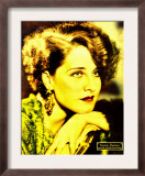 Norma Shearer on Portrait Poster, Jumbo Window Card, Ca. 1932 Prints
