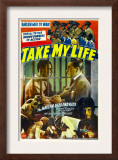 Take My Life, Poster Art, 1942 Prints