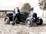 Billy F. Gibbons Hot Rod Fotografisk tryk af David Perry