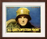 All Quiet on the Western Front, Lew Ayres, 1930 Art