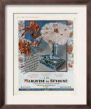 Marquise de Sevigne, Magazine Advertisement, France, 1929 Prints