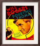 Doubting Thomas, Billie Burke, Will Rogers on Trimmed Window Card, 1935 Prints