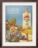 Mobiloil Gas Stations Day Trips, USA, 1920 Posters