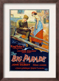 Big Parade, John Gilbert, Renee Adoree, 1925 Pôsters