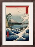 View from Satta Suruga Prints by Ando Hiroshige