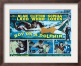 Boy on a Dolphin, Sophia Loren, Alan Ladd, Piero Giagnoni, Clifton Webb, 1957 Art