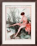 La Vie Parisienne, Magazine Plate, France, 1927 Print