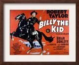 Billy the Kid, Robert Taylor, 1941 Poster
