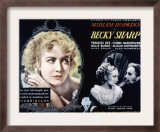Becky Sharp, Miriam Hopkins, Cedric Hardwicke, 1935 Prints