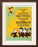 The Cocoanuts, the Marx Brothers, 1929 Poster