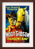 Rainbow's End, Hoot Gibson, 1935 Posters