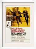 Butch Cassidy and the Sundance Kid, Paul Newman, Robert Redford, 1969 Prints