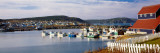 Boats in a Harbor, Bonavista Harbour, Newfoundland, Newfoundland and Labrador, Canada Wall Decal by  Panoramic Images