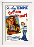 Captain January, Shirley Temple, 1936 Print