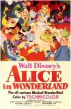 Alice au pays des merveilles Affiche originale