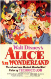 Alice nel paese delle meraviglie Stampa master