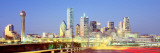 Dallas, Texas Wall Decal by  Panoramic Images
