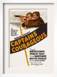Captains Courageous, Freddie Bartholomew, Spencer Tracy, 1937 Posters