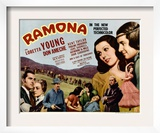 Ramona, Kent Taylor, Pauline Frederick, John Carradine, 1936 Prints