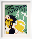 Girls Demand Excitement, John Wayne, Virginia Cherrill, 1931 Prints