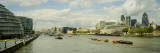 Buildings at The Waterfront, Thames River, London Wall Decal by  Panoramic Images