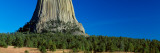 Devils' Tower, Blue Sky, Devils' Tower National Monument, Wyoming Wall Decal