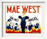 I'm No Angel, Cary Grant, Mae West, Mae West, 1933 Posters