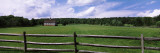 Barn in a Field, Near Cuba Lake, Allegany County, New York State Wall Decal by  Panoramic Images