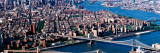 USA, New York, Brooklyn Bridge, Aerial Wall Decal by  Panoramic Images