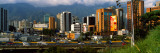 Buildings in a City, Caracas, Venezuela Wall Decal by  Panoramic Images