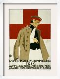 Red Cross Collection Drive, 1914 ポスター : ルートヴィッヒ・ホールヴァイン
