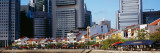 Buildings in a City, Singapore Wall Decal by  Panoramic Images
