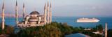 Blue Mosque, Istanbul, Turkey Veggoverføringsbilde av Panoramic Images,