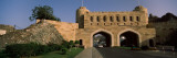 Road Passing Through Archways, Muscat Gate Museum, Al Saidiya Street, Muscat, Oman Wall Decal by  Panoramic Images