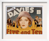 Five and Ten, Marion Davies, Richard Bennett, Leslie Howard, 1931 Print