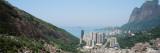 High Angle View of a City, Favela, Rio De Janeiro, Brazil Wall Decal