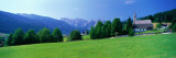 Country Churches Near Dachstein, Gosau, Austria Wall Decal by  Panoramic Images
