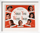 Since You Went Away, Claudette Colbert, Joseph Cotten, Monty Woolley, and Lionel Barrymore, 1944 Prints