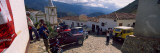 Tourists in a City, Andes, Merida, Merida State, Venezuela Autocollant mural par  Panoramic Images