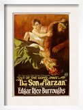 The Son of Tarzan, 1920 Print