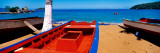 Boats On The Beach, Colorada Beach, Mochima National Park, Anzoategui State-Sucre State, Venezuela Wall Decal by  Panoramic Images