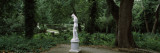 Statue in a Garden, Middleton Place, Charleston, South Carolina Wall Decal by  Panoramic Images