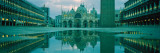 Reflection of St. Mark's Cathedral, Venice, Italy Wall Decal by  Panoramic Images
