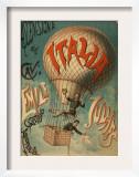 Ascensione del Cave - Emile Julhes, Capitano Areonauta Prints