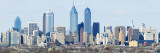 Skyscrapers in Philadelphia, Pennsylvania Wall Decal by  Panoramic Images